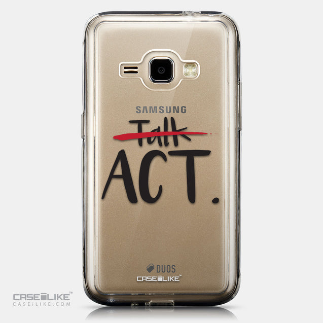 CASEiLIKE Samsung Galaxy J1 (2016) back cover Quote 2408