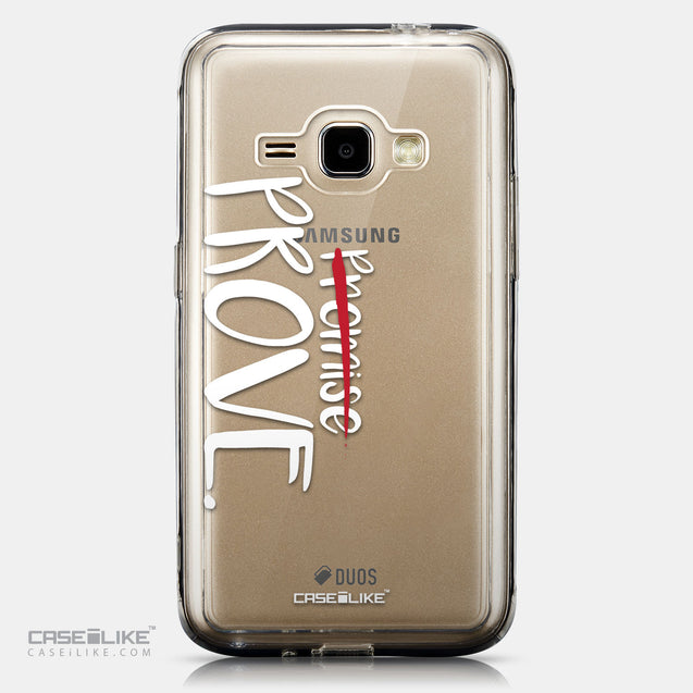 CASEiLIKE Samsung Galaxy J1 (2016) back cover Quote 2409