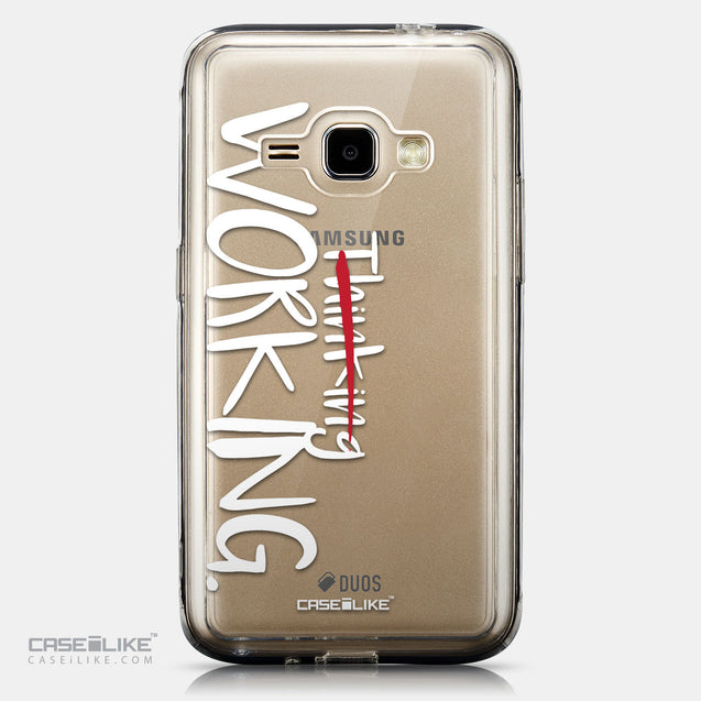 CASEiLIKE Samsung Galaxy J1 (2016) back cover Quote 2411