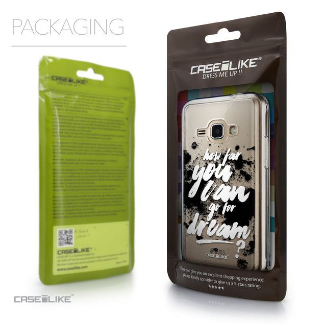 Packaging - CASEiLIKE Samsung Galaxy J1 (2016) back cover Quote 2413
