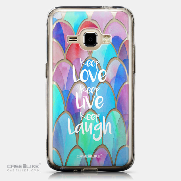 CASEiLIKE Samsung Galaxy J1 (2016) back cover Quote 2417