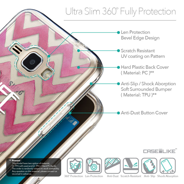 Details in English - CASEiLIKE Samsung Galaxy J1 (2016) back cover Quote 2419