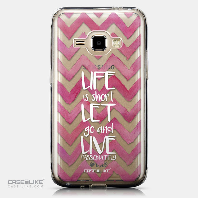 CASEiLIKE Samsung Galaxy J1 (2016) back cover Quote 2419