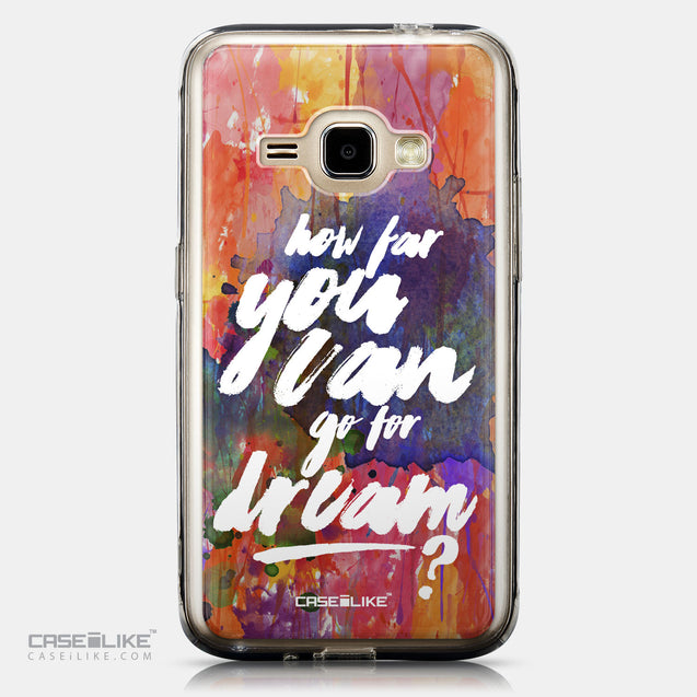 CASEiLIKE Samsung Galaxy J1 (2016) back cover Quote 2421