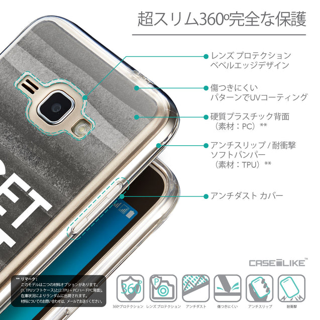 Details in Japanese - CASEiLIKE Samsung Galaxy J1 (2016) back cover Quote 2429