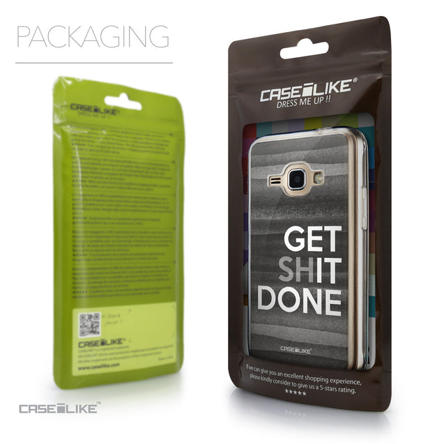 Packaging - CASEiLIKE Samsung Galaxy J1 (2016) back cover Quote 2429