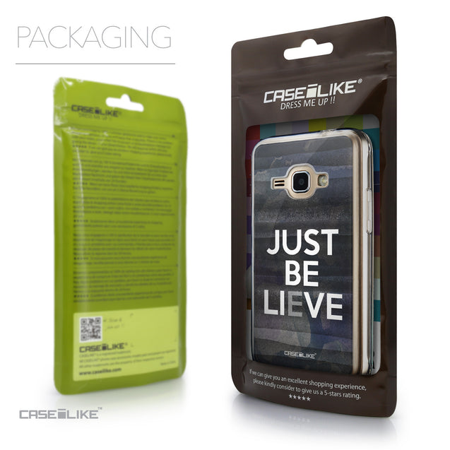 Packaging - CASEiLIKE Samsung Galaxy J1 (2016) back cover Quote 2430