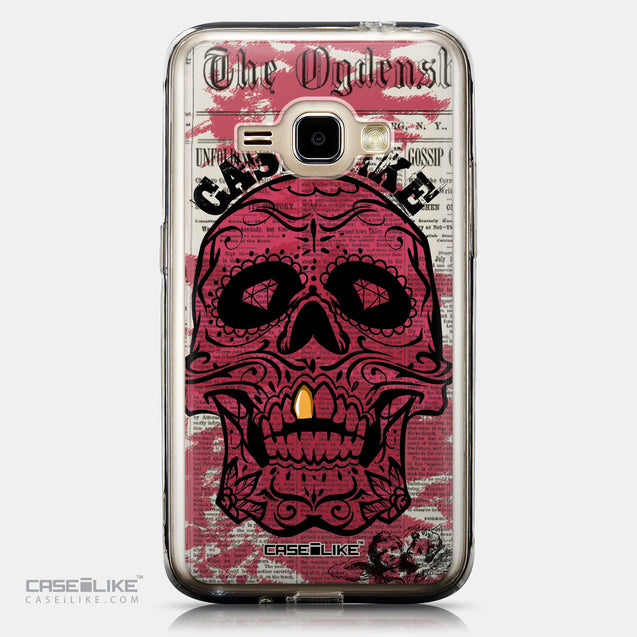 CASEiLIKE Samsung Galaxy J1 (2016) back cover Art of Skull 2523
