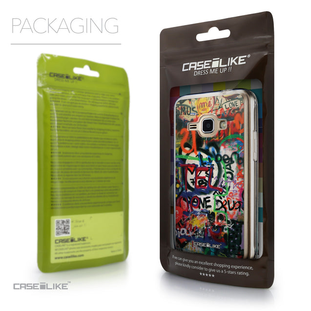 Packaging - CASEiLIKE Samsung Galaxy J1 (2016) back cover Graffiti 2721