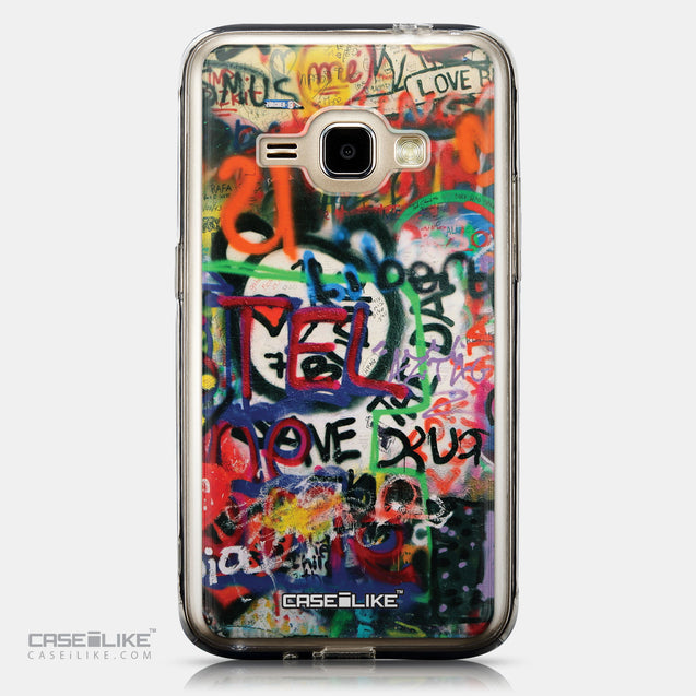 CASEiLIKE Samsung Galaxy J1 (2016) back cover Graffiti 2721