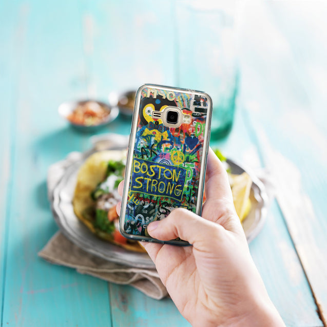 Share - CASEiLIKE Samsung Galaxy J1 (2016) back cover Graffiti 2723