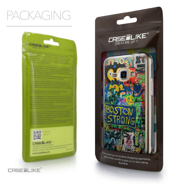 Packaging - CASEiLIKE Samsung Galaxy J1 (2016) back cover Graffiti 2723