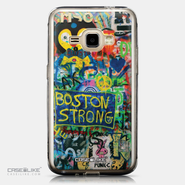 CASEiLIKE Samsung Galaxy J1 (2016) back cover Graffiti 2723