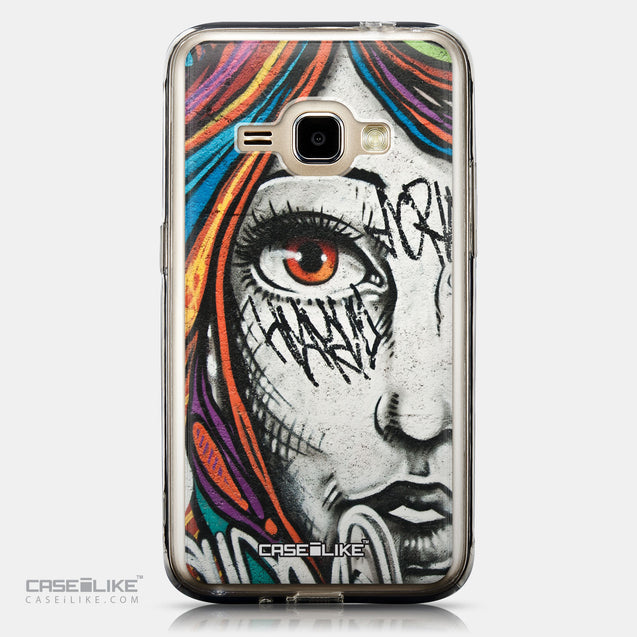 CASEiLIKE Samsung Galaxy J1 (2016) back cover Graffiti Girl 2724