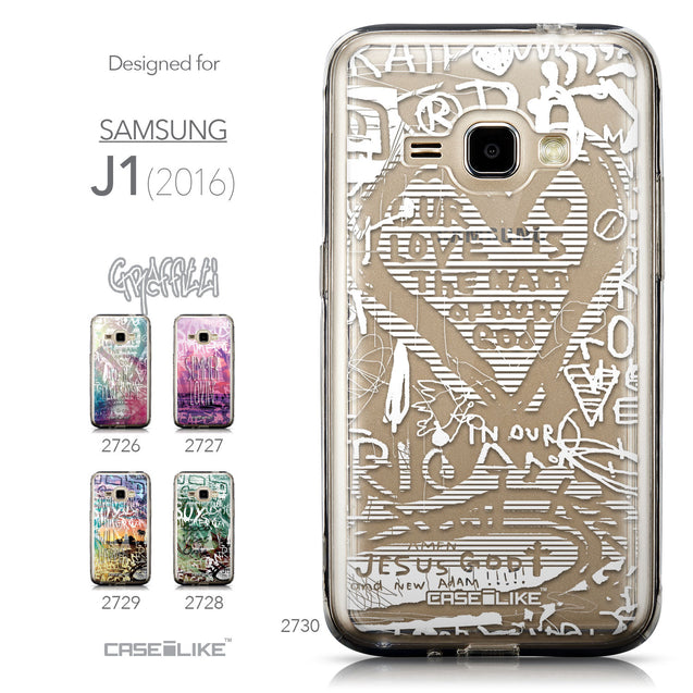 Collection - CASEiLIKE Samsung Galaxy J1 (2016) back cover Graffiti 2730
