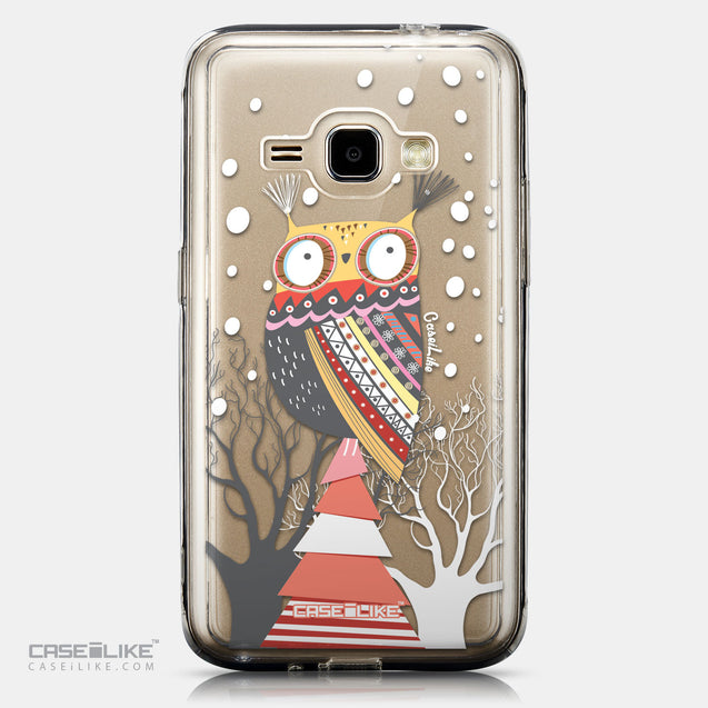 CASEiLIKE Samsung Galaxy J1 (2016) back cover Owl Graphic Design 3317
