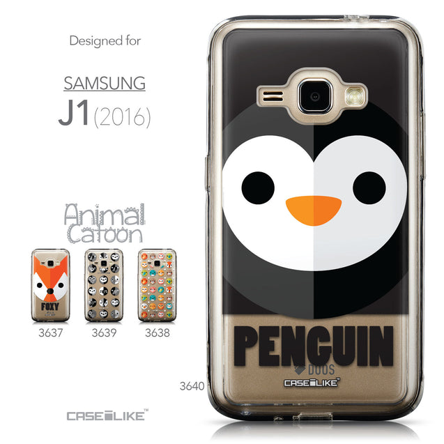 Collection - CASEiLIKE Samsung Galaxy J1 (2016) back cover Animal Cartoon 3640