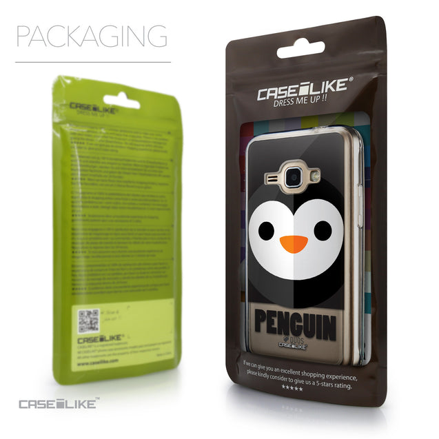 Packaging - CASEiLIKE Samsung Galaxy J1 (2016) back cover Animal Cartoon 3640