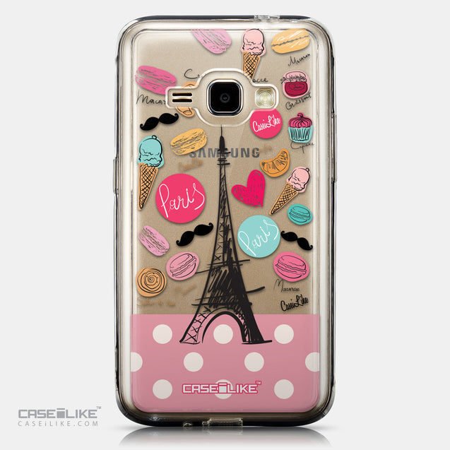 CASEiLIKE Samsung Galaxy J1 (2016) back cover Paris Holiday 3904