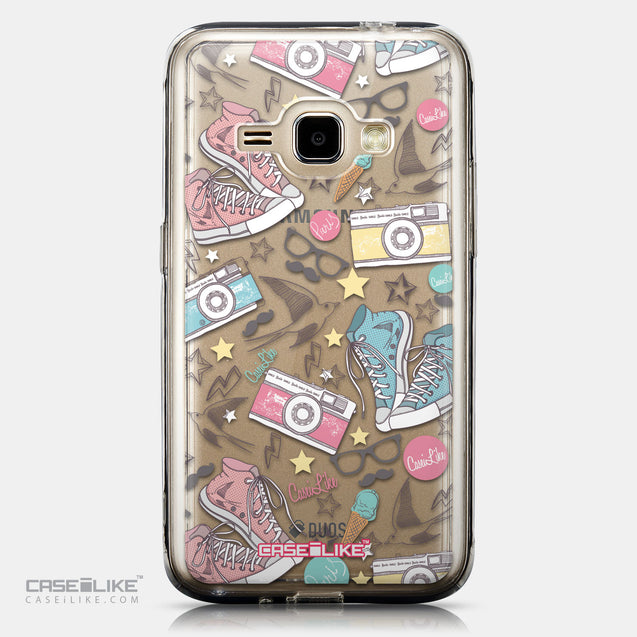 CASEiLIKE Samsung Galaxy J1 (2016) back cover Paris Holiday 3906