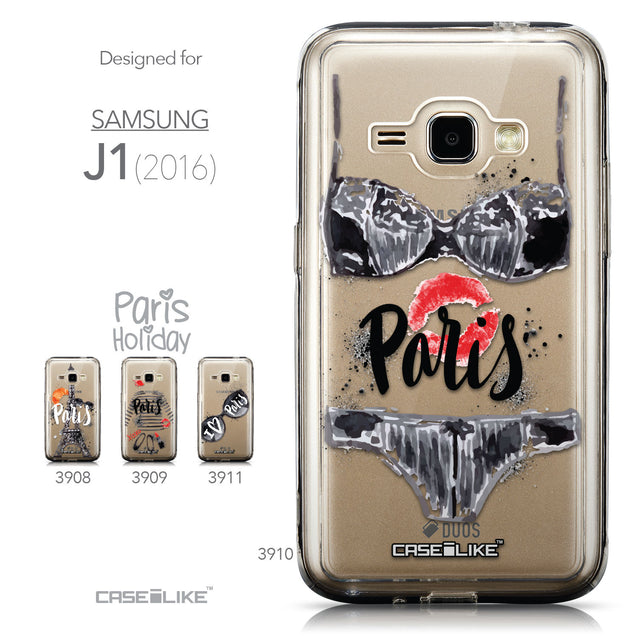 Collection - CASEiLIKE Samsung Galaxy J1 (2016) back cover Paris Holiday 3910