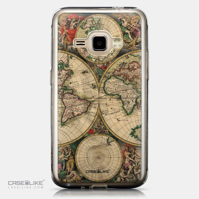 CASEiLIKE Samsung Galaxy J1 (2016) back cover World Map Vintage 4607