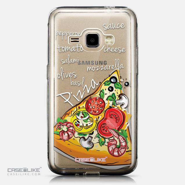 CASEiLIKE Samsung Galaxy J1 (2016) back cover Pizza 4822