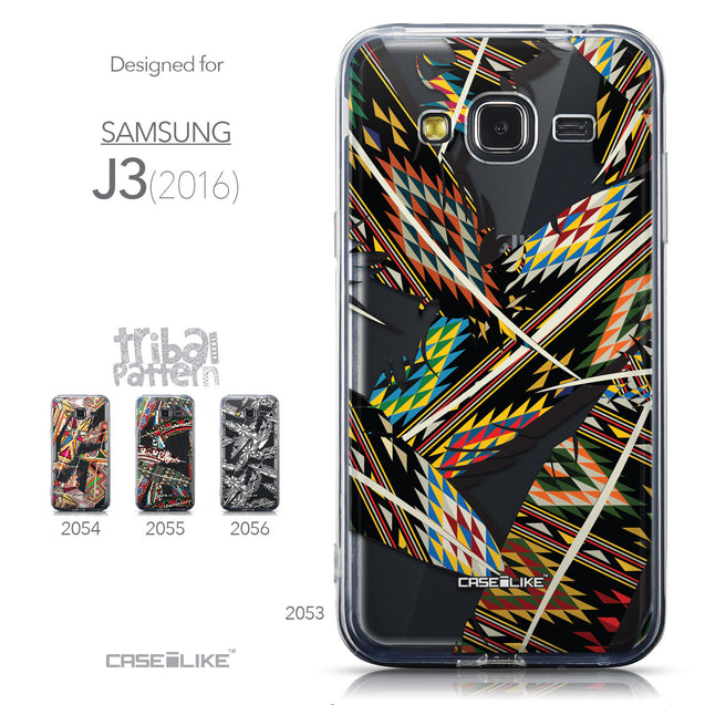 Collection - CASEiLIKE Samsung Galaxy J3 (2016) back cover Indian Tribal Theme Pattern 2053