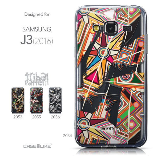 Collection - CASEiLIKE Samsung Galaxy J3 (2016) back cover Indian Tribal Theme Pattern 2054