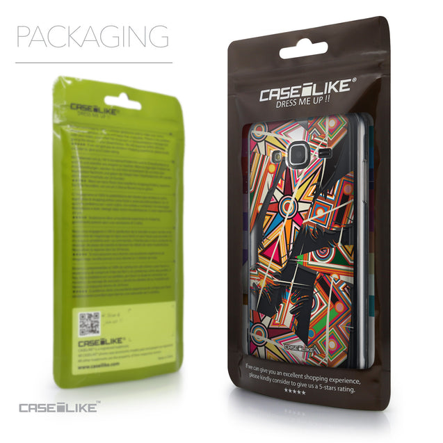 Packaging - CASEiLIKE Samsung Galaxy J3 (2016) back cover Indian Tribal Theme Pattern 2054