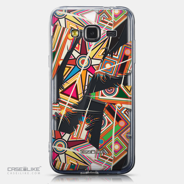 CASEiLIKE Samsung Galaxy J3 (2016) back cover Indian Tribal Theme Pattern 2054
