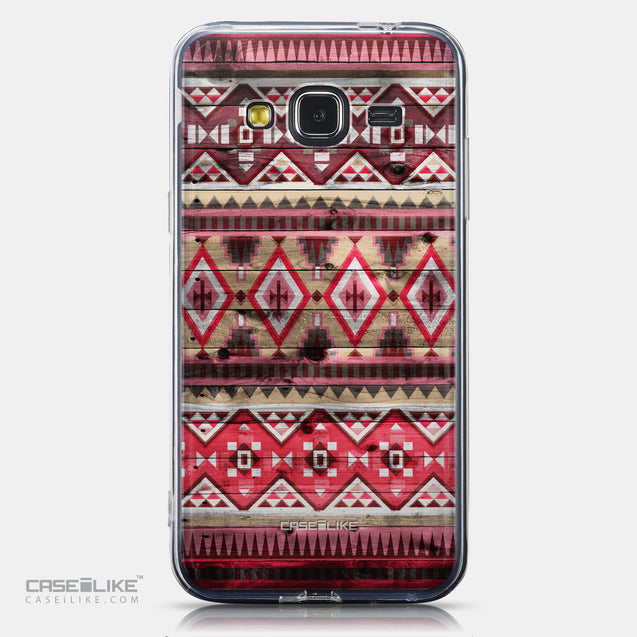 CASEiLIKE Samsung Galaxy J3 (2016) back cover Indian Tribal Theme Pattern 2057