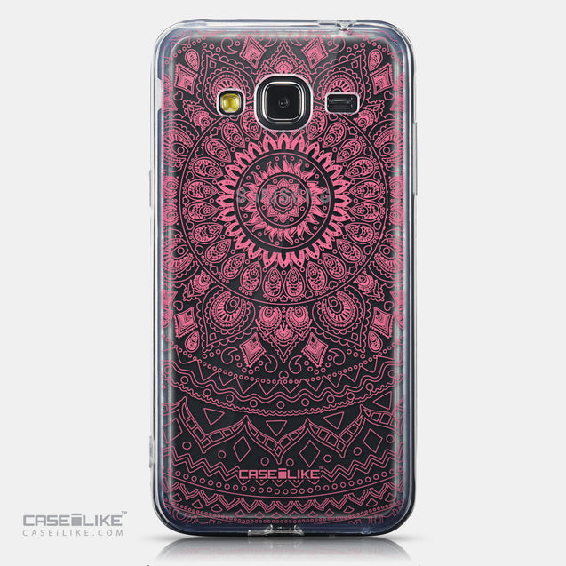 CASEiLIKE Samsung Galaxy J3 (2016) back cover Indian Line Art 2062
