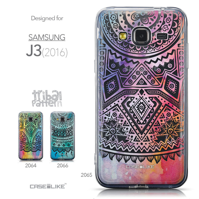 Collection - CASEiLIKE Samsung Galaxy J3 (2016) back cover Indian Line Art 2065