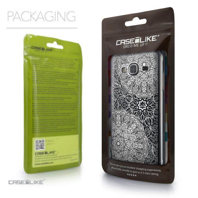 Packaging - CASEiLIKE Samsung Galaxy J3 (2016) back cover Mandala Art 2093