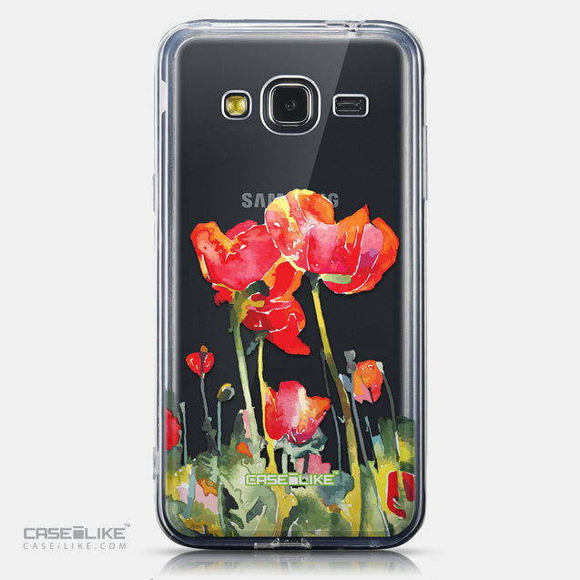 CASEiLIKE Samsung Galaxy J3 (2016) back cover Watercolor Floral 2230
