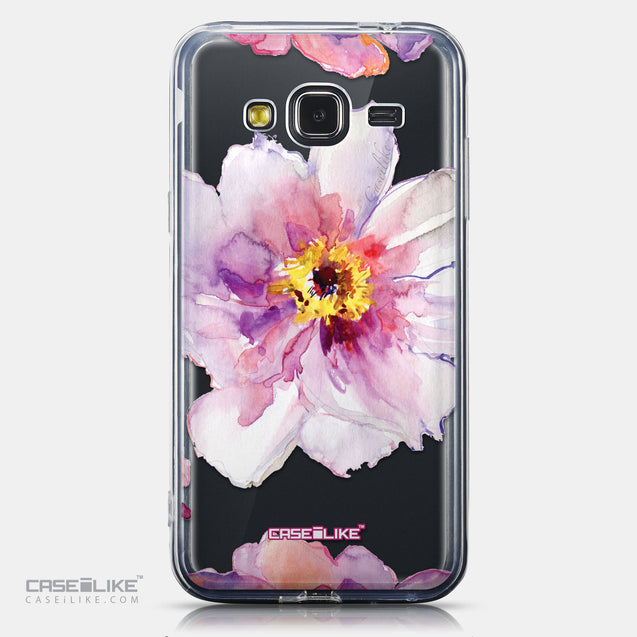 CASEiLIKE Samsung Galaxy J3 (2016) back cover Watercolor Floral 2231