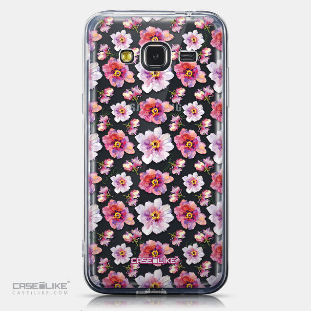 CASEiLIKE Samsung Galaxy J3 (2016) back cover Watercolor Floral 2232