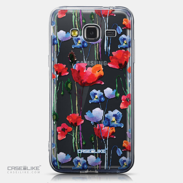 CASEiLIKE Samsung Galaxy J3 (2016) back cover Watercolor Floral 2234