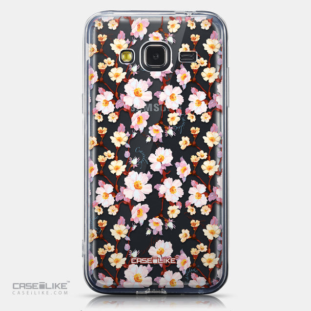 CASEiLIKE Samsung Galaxy J3 (2016) back cover Watercolor Floral 2236
