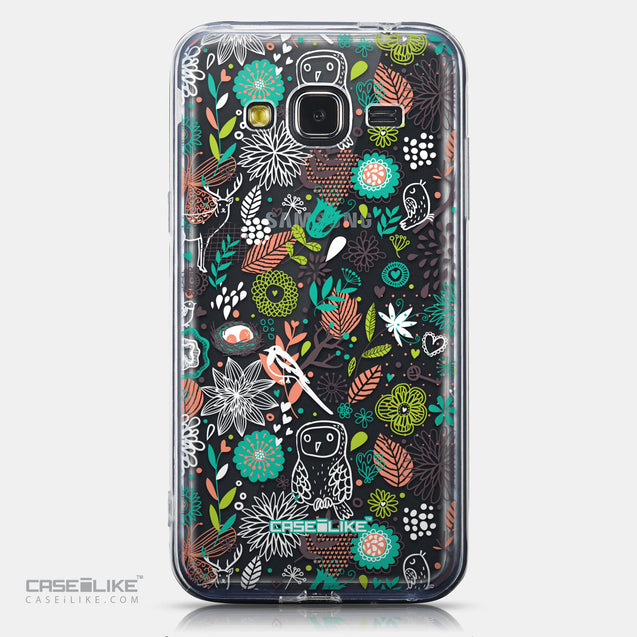 CASEiLIKE Samsung Galaxy J3 (2016) back cover Spring Forest White 2241