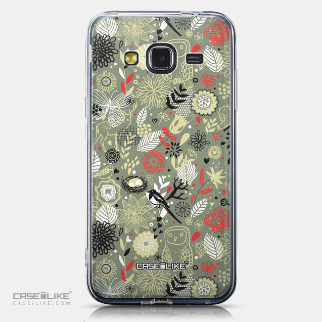 CASEiLIKE Samsung Galaxy J3 (2016) back cover Spring Forest Gray 2243