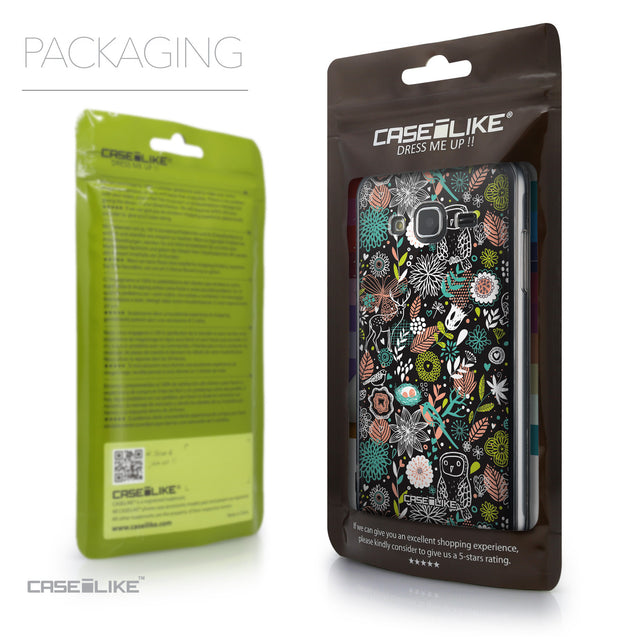 Packaging - CASEiLIKE Samsung Galaxy J3 (2016) back cover Spring Forest Black 2244