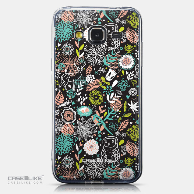 CASEiLIKE Samsung Galaxy J3 (2016) back cover Spring Forest Black 2244