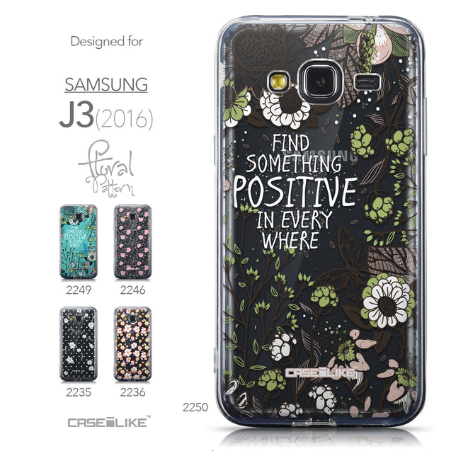 Collection - CASEiLIKE Samsung Galaxy J3 (2016) back cover Blooming Flowers 2250