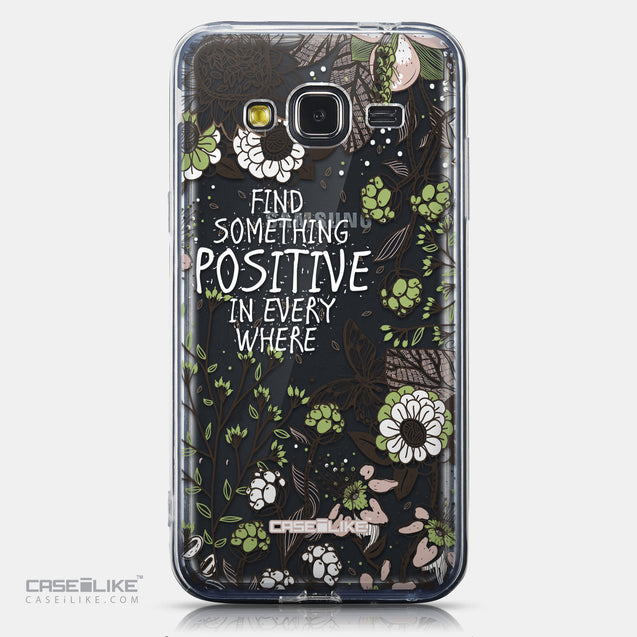 CASEiLIKE Samsung Galaxy J3 (2016) back cover Blooming Flowers 2250