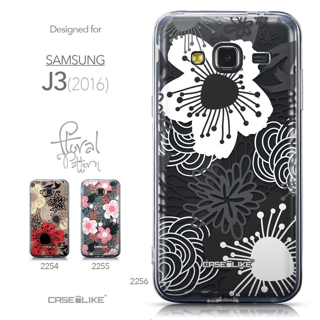 Collection - CASEiLIKE Samsung Galaxy J3 (2016) back cover Japanese Floral 2256