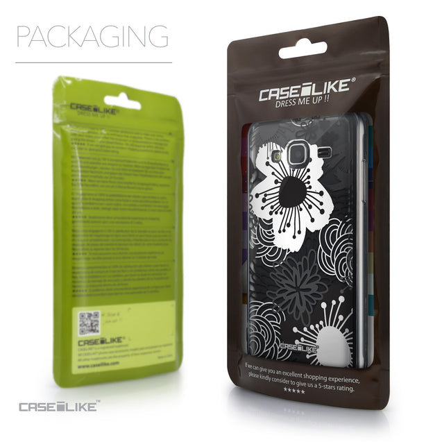Packaging - CASEiLIKE Samsung Galaxy J3 (2016) back cover Japanese Floral 2256
