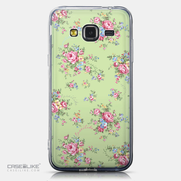 CASEiLIKE Samsung Galaxy J3 (2016) back cover Floral Rose Classic 2262