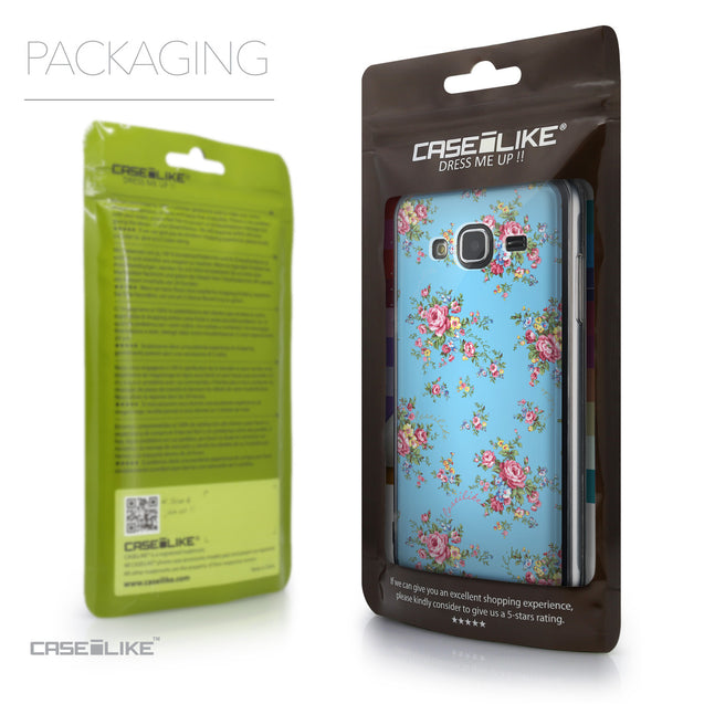 Packaging - CASEiLIKE Samsung Galaxy J3 (2016) back cover Floral Rose Classic 2263